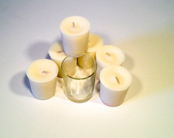 6 Pack Eucalyptus Soy Votives