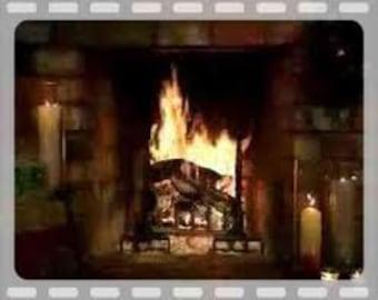 6 pack Firewood Soy Votives