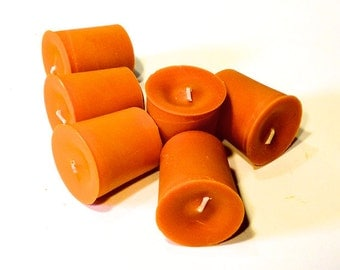 6 pack Handcrafted Autumn Blend Soy Votives