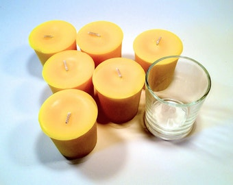 6 Pack Pineapple Soy Votives