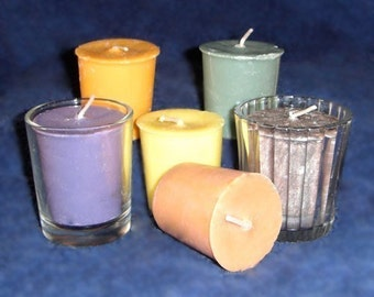 FREE Shipping when you order 3 or more - 6-pack of Hand Poured Highly Scented Soy Votives