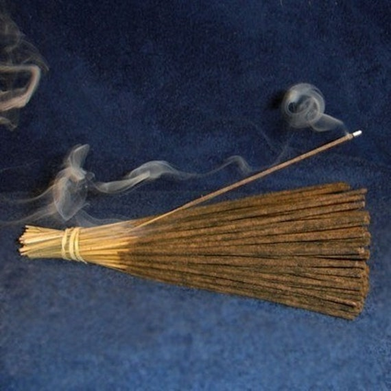 Cool Citrus Basil 11 inch Hand Dipped Incense