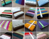 Custom Knitted laptop sleeve Macbook 17 inch - Choose your own colors