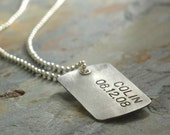 PAPA TAG - in Sterling Silver