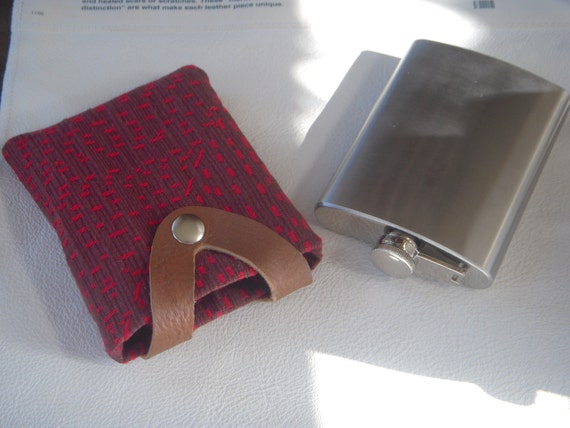 Flask Coozie and 8oz Stainless Steel Flask       ON SALE