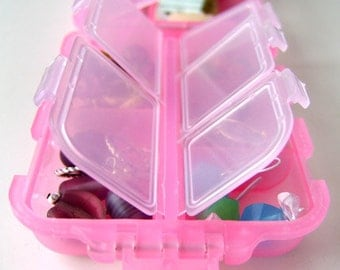 Snap n Go Notions Case - Original - On-The-Go Accessory for Knitters and Crocheters - Pretty in Pink