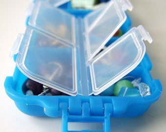 Snap 'n Go Notions Case - Original - On-The-Go Accessory for Knitters and Crocheters - Little Boy Blue
