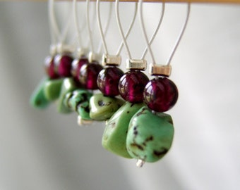 More Varied Than Any Landscape - Seven Snag Free Stitch Markers - Fits Up To 5.5 mm (9 US) - Limited Edition