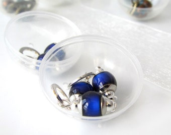Poppers - Small Stitch Marker Holder - Hamster Ball Style Case