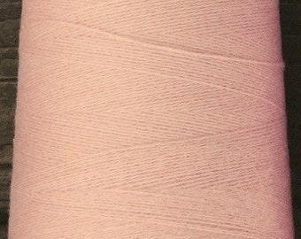 cashmere wool blend yarn, lace weight, blush