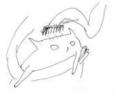 Cat Fine Art Print- Suave