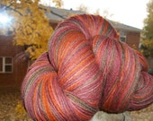 Autumn Twilight - Hand Dyed Wool Yarn, Fingering (Sock) Weight