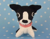 Palm Puppy Boston Terrier Plush ---- RESERVED FOR RL ----