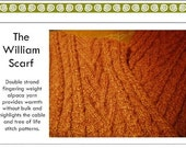 The William Fisherman Scarf Pattern (PDF)