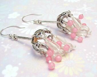 Pink Belle Earrings