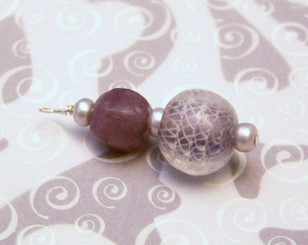 Lovely Lilac Pendant