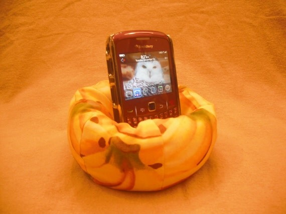 Cell Phone Bean Bag Chair or Kindle Kouch (eReader Rest) Yes, We Have No Bananas