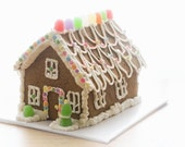 The Little Vegan Gingerbread House Kit