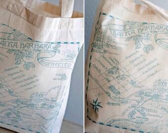 Santa Barbara Tote Bags