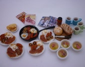 English  breakfast miniature food