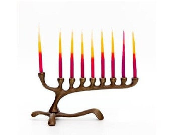 Asymmetrical Menorah for 9 candle for Hannukah - at least 3 week lead time needed