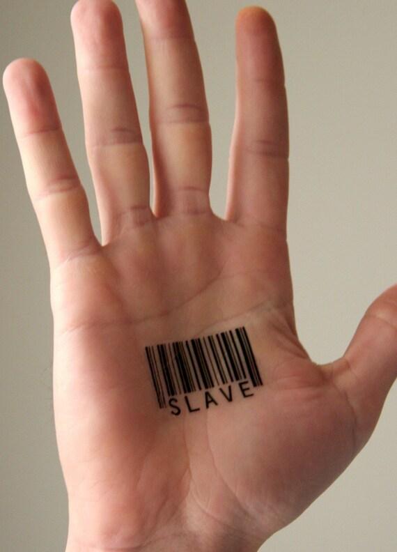 Temporary Barcode Tattoos
