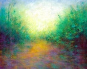 Landscape painting of Spring in Vermont  Free Shipping within the USA