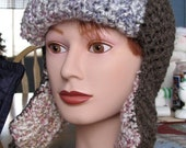 PATTERN SALE Like Totally Bomber Hat PDF Pattern FREE SHIPPING