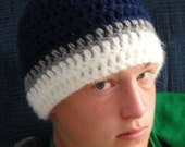Popular Fast and Easy Rockin Beanie PDF Crochet Pattern