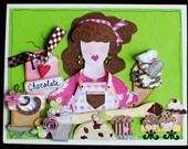 Chocolate Love Greeting Card