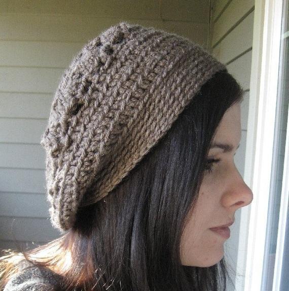 Beautiful Shell Slouchy Hat Crochet Pattern