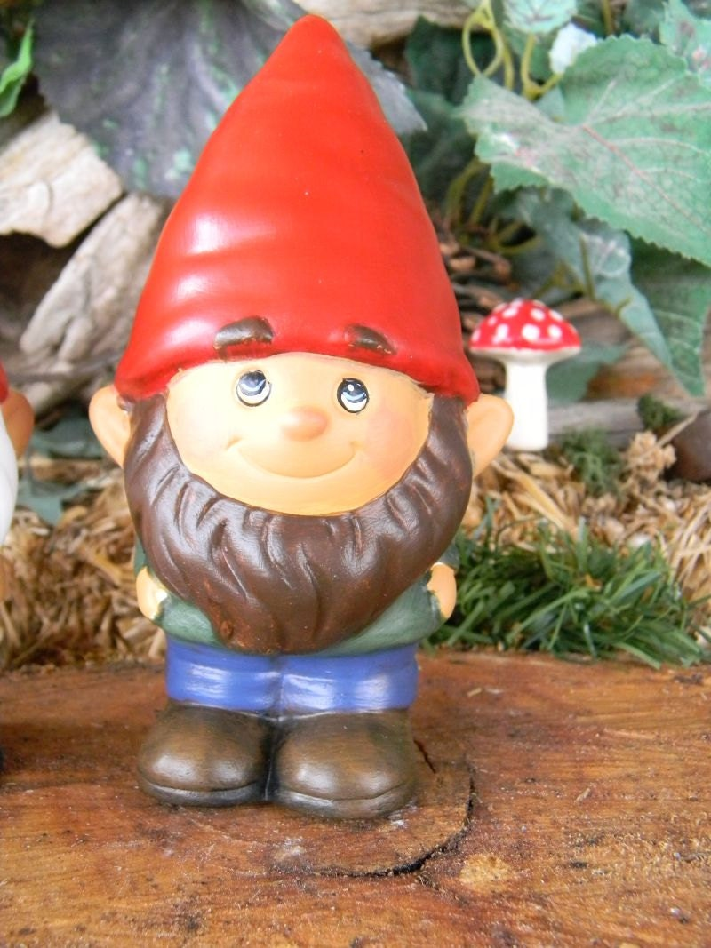 Gnome In Garden: Garden Gnome Ceramic Mr. Gnomer Lawn Garden Or Home Gnome