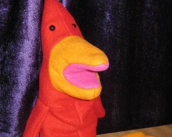 Red Gwak Puppet