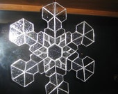Stained Glass Snowflake