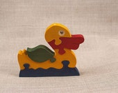 Wooden Toy Duckling Puzzle