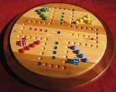 2 in 1 Classic Game Board - Aggravation & Chinese Checkers