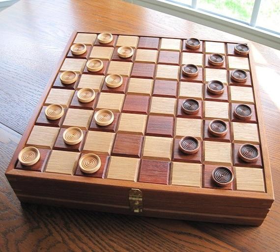 Inlayed Checkerboard Box