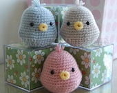 Bird Gurumi Crochet Pattern
