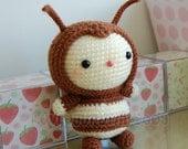 Bee Gurumi Crochet Pattern