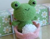 Froggy Crochet Pattern