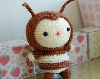 Bee Gurumi Crochet Pattern