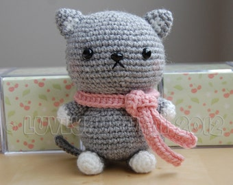 Kitty Gurumi Crochet Pattern