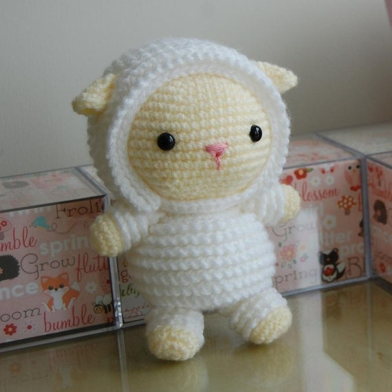Little Lamb Gurumi Pattern