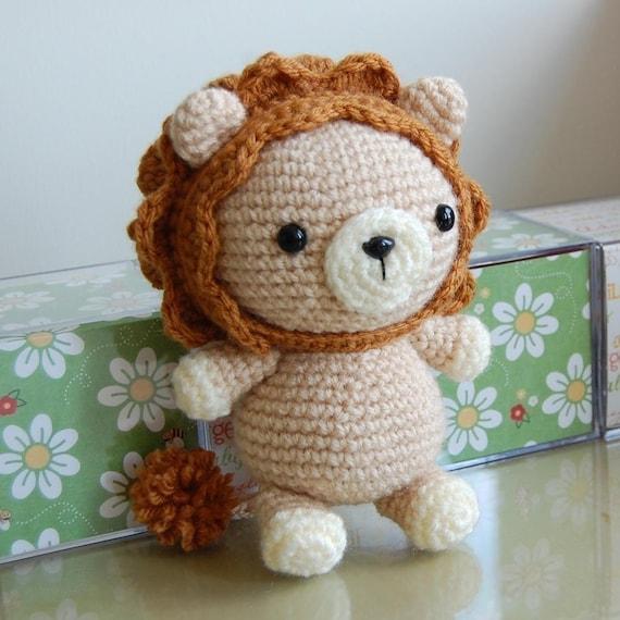 Lion Gurumi Crochet Pattern