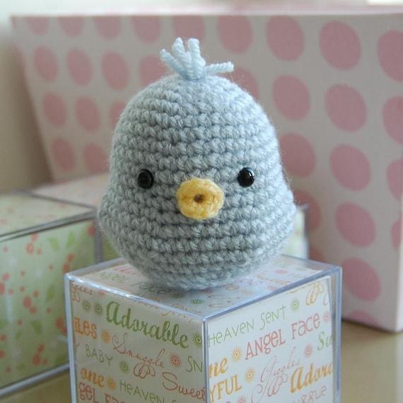 Baby Blue Bird Gurumi