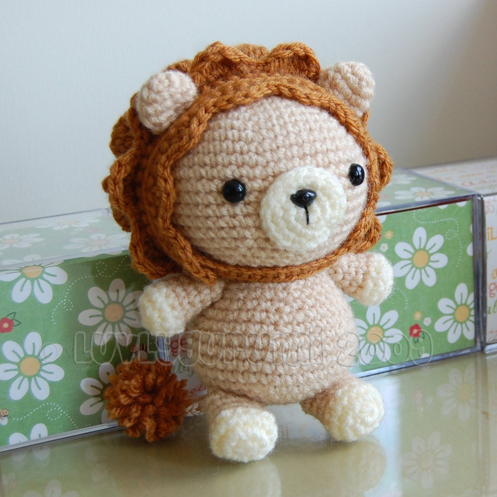 Lion Gurumi Crochet Pattern