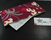 Receipt Holder / Cash Wallet / Coupon Holder - STASHER - Orchid Mulberry