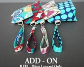 Add a Wrist Lanyard Add-On - Matching Fabric  OR Fabric of your Choice