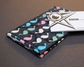 Business Card Holder / Business Card Case / Credit Card Holder - VERT I - Love Birds