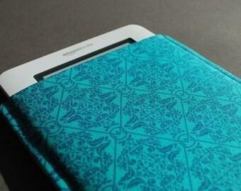 Kindle Paperwhite Case / Kindle Touch Case / Kindle Oasis Case / Kindle Voyage Case - Teal Crest